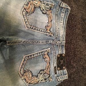 EUC Miss Me jeans skinny size 29